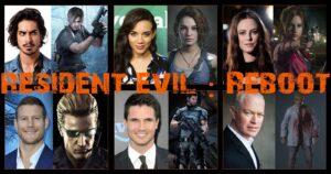 """RESIDENT EVIL: MOVIE REBOOT """"EL REINICIO"""", CONOCE A LOS PROTAGONISTAS (CONFIRMADO)"""
