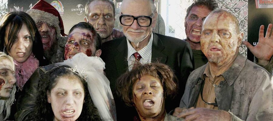 GEORGE ROMERO 'THE LIVING DEAD' libro apocalípsis zombie - web stories 4
