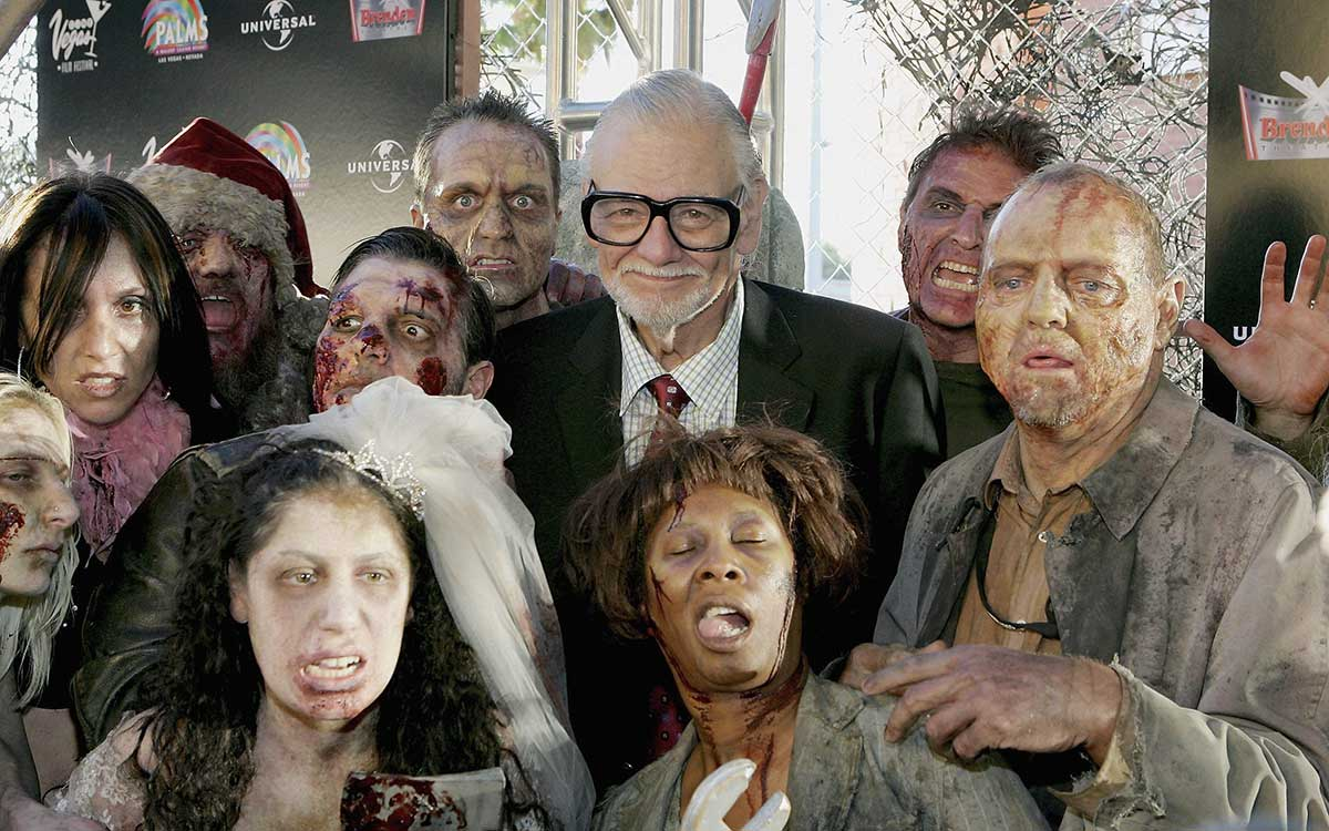 GEORGE ROMERO 'THE LIVING DEAD' libro apocalípsis zombie - web stories 4