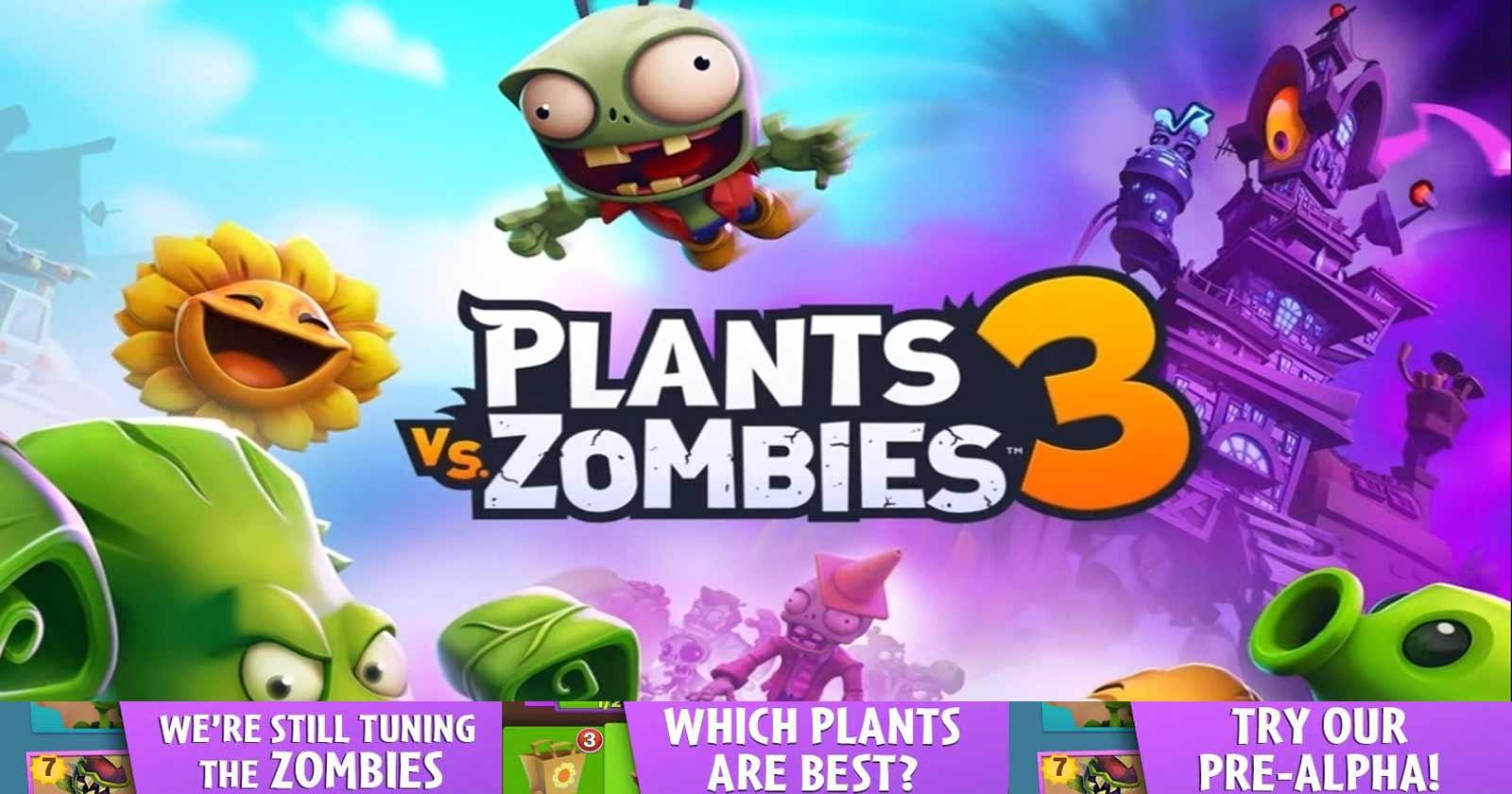 """""""PLANTS VS ZOMBIES 3"""" NO ES CANCELADO, EA APLAZA SU LANZAMIENTO"""