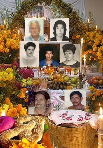 Día de Muertos - Retrato de la persona que queremos recordar