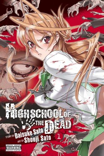 Manga de Zombies - Highschool of tre Dead (Preparatoria de la muerte)