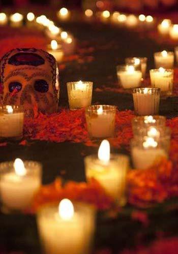 Día de Muertos - Doce velas o cirios