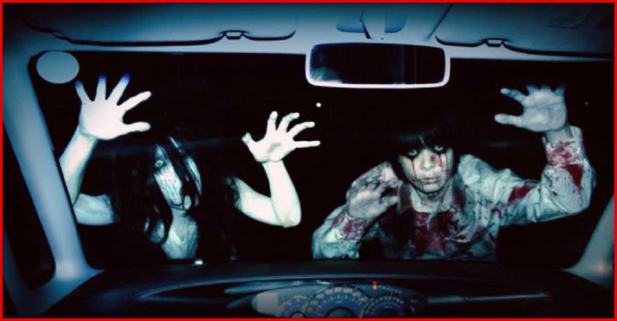 """""""Los ZOMBIES atacan autos"""": Nueva y escalofriante idea para una casa del terror en Japón"""