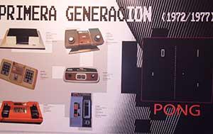 Primera Generación de consolas de videojuegos.