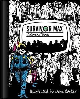 Survivor Max libro para colorear