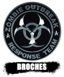 BROCHES y pines de zombies top shop 2020. información real de los zombies.