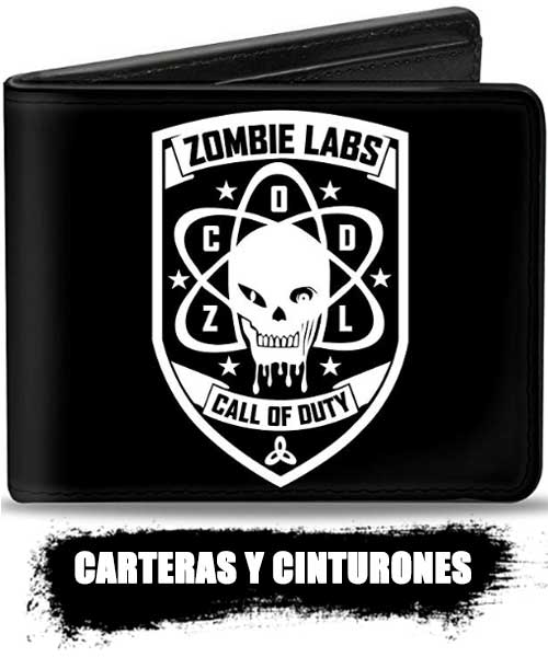 CARTERAS y cinturones de zombies top shop 2020, información real de los zombies.