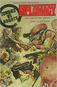 Comic zombies vs robots diplomacy comprar ne la tienda online DeZombies