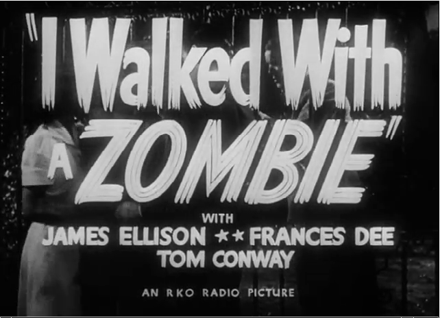 I_Walked_with_a_Zombie_by_Jacques_Tourneur top 10 películas de zombies