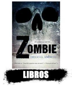 LIBROS y novelas de zombies. top shop 2020 información de los zombies reales.