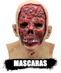 MASCARAS reales de zombies de latex profecional top shop 2020. artículos e información DeZombies.Top