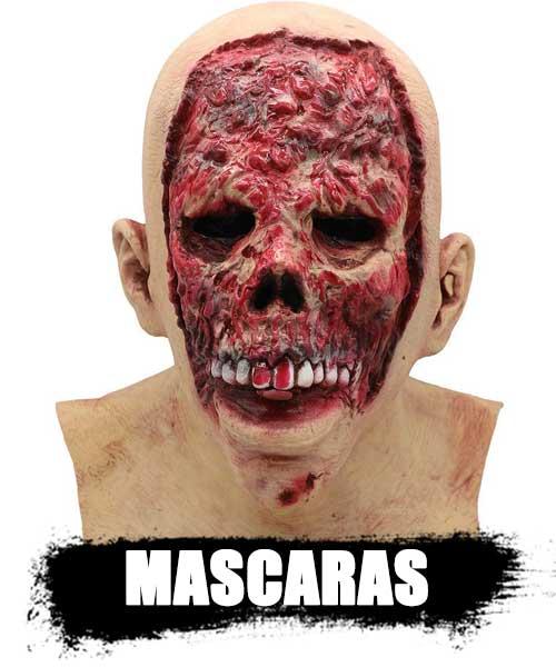 MASCARAS reales de zombies de latex profecional top shop 2020. artículos e información DeZombies.Top