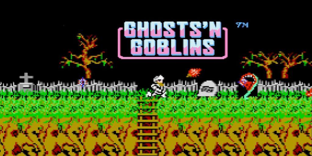 Ghosts 'N Goblins de NES  fue un gran exito y salio en 1986