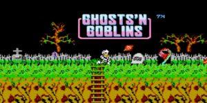 Uno de los primeros videojuegos de zombies NES_GhostNGoblins
