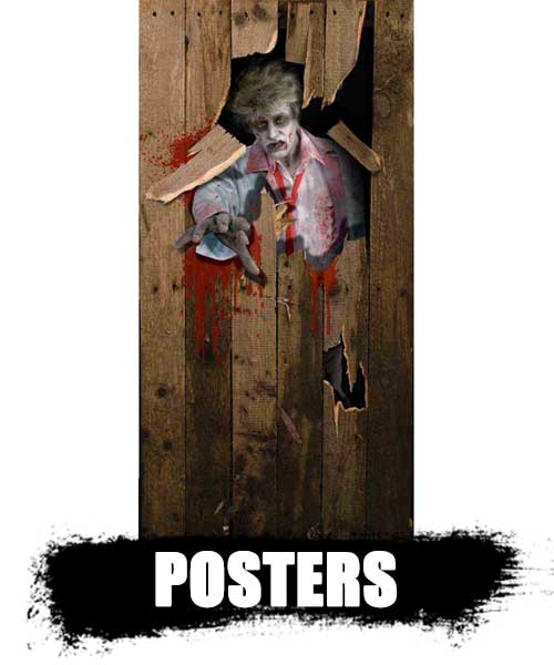POSTERS de zombies decoración top shop 2020. información de zombies reales.