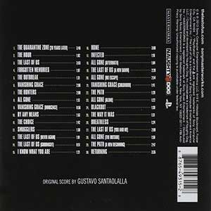 """""""Tema principal"""" El último de nosotros de Gustavo Santaolalla. Ocupa la octava posición dentro del top 10 de música de zombies."""