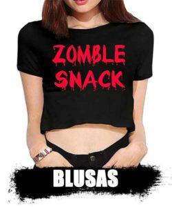 blusas de zombies para mujer sexy y aventurera top shop 2020. información de zombies reales.
