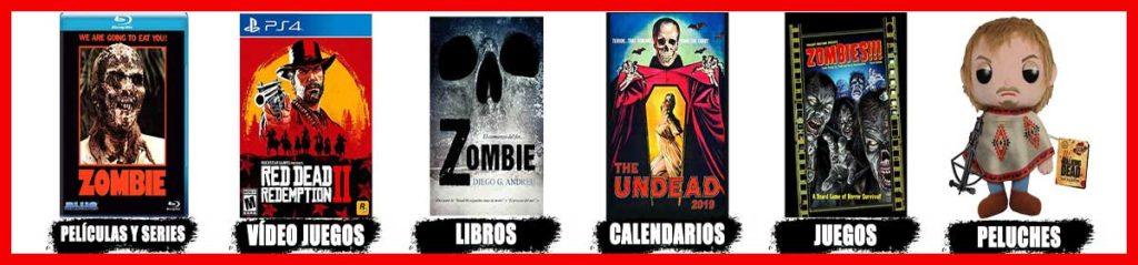 entretenimiento y diversión zombie tienda online