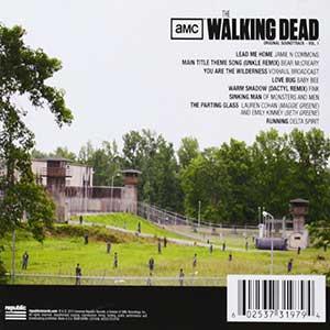 Música de zombies. soundtrack TWD ocupa la segunda posición dentro del top 10 de música de zombies.