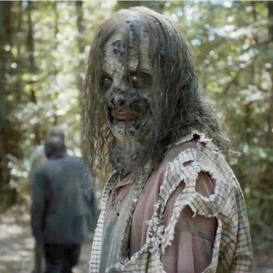 Disfraz de zombie real