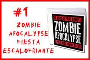 Invitacion de zombies fiestas ocupa la posición numero 1 del top 10 de zombies invitaciones