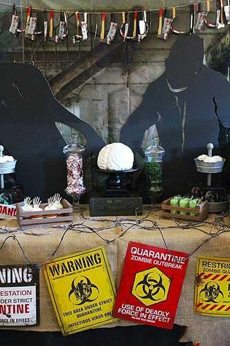 Comida de zombies platillos apocalípticos