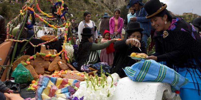 Países de Latinoamérica con celebración del Día de Muertos - Bolivia