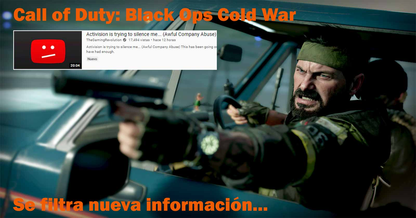CALL OF DUTY: BLACK OPS COLD WAR ZOMBIES FILTRA INFORMACIÓN, ACTIVISION LO ELIMINA...
