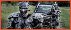 40 tipos diferentes de zombies - Los-zombies-escupe-fuego